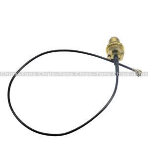 2PCS Mini U.FL PCI to RP-SMA Antenna WiFi Cable Signal