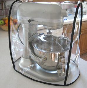 kitchen aid bowls remodel san antonio clear mixer cover fits kitchenaid bowl lift black trim 5 6 qt image is loading