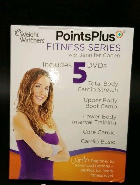 Weight Watchers Points Plus Series Fitness DVD Jennifer ...