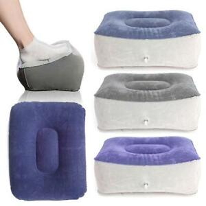 Inflatable Travel Footrest Pillow Relief Relax DVT Risk on ...