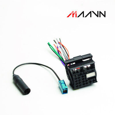 DVD Antenna Cable Stereo with Harness For VOLKSWAGEN Car