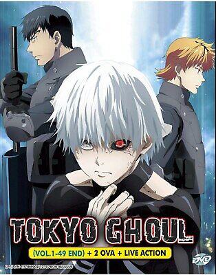 Tokyo Ghoul Re Saison 4 : tokyo, ghoul, saison, Anime, Tokyo, Ghoul, Season, Vol.1-49, Action, English