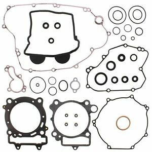 Kawasaki KX450F, 2009-2015, Complete/Full Gasket Set with