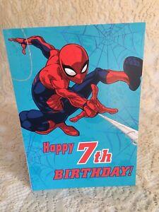 Spiderman Birthday Card : spiderman, birthday, Happy, Birthday, Hallmark, Spiderman, Years, Spider