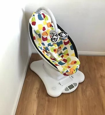 swing chair hire jens risom lounge rent mamaroo 4moms rocker plush baby infant seat