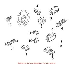 For BMW Genuine Air Bag Impact Sensor Center Left