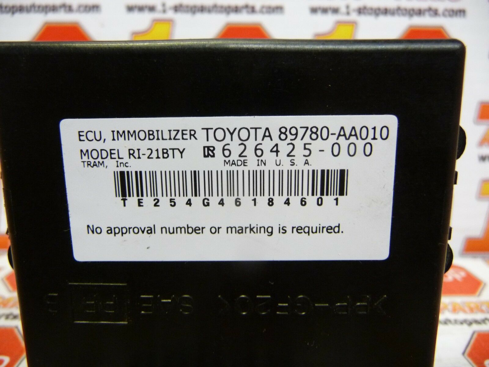 hight resolution of 04 05 06 07 toyota solara immobilizer theft locking control module 89780 aa 010 ebay