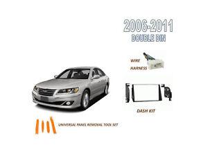 NEW for 2006-2011 HYUNDAI AZERA Car Stereo Double DIN Dash