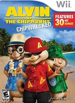 Alvin And The Chipmunks Chipwrecked Nintendo Wii 96427017516 Ebay