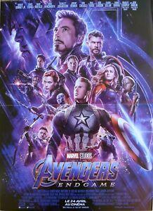 details about avengers endgame marvel comics super hero original movie poster