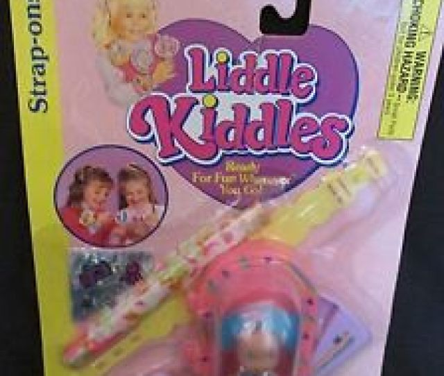 Image Is Loading Brand New Vintage Little Kiddles Doll Strap Ons