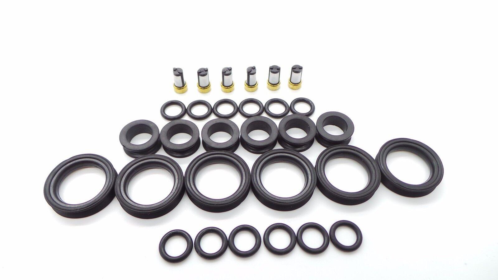 Toyota Lexus V6 Fuel Injector Repair Kit O Rings Grommets
