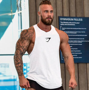 Image Is Loading New Hot Men Gym Tank Top Clothing Bodybuilding