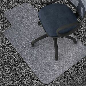 clear chair mat covers houston tx 36 x 48 home office computer desk floor carpet pvc image is loading 034