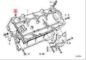 Genuine Engine Dowel x5 pcs BMW ROLLS-ROYCE Alpina Hybrid