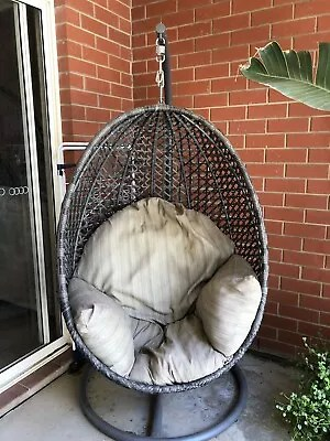 egg chair stand australia reclining folding with footrest hanging other furniture gumtree