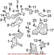 2*Engine Mount 8683936 9485551 for Volvo S60 XC70 XC90 99