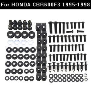 Motorbike Fairing Bolts Screws Kit For Honda CBR600 F3