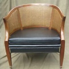 Barrel Back Chair Rental Folding Chairs Vintage Charlotte Company Hollywood Regency 039