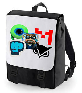 GAMERS BACK PACK  LOGOS TOGETHER BAGBASE VANOSSGAMING PEWDIEPIE  eBay
