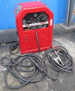 LINCOLN ELECTRIC ACDC 225125 ACDC ARC WELDER   eBay