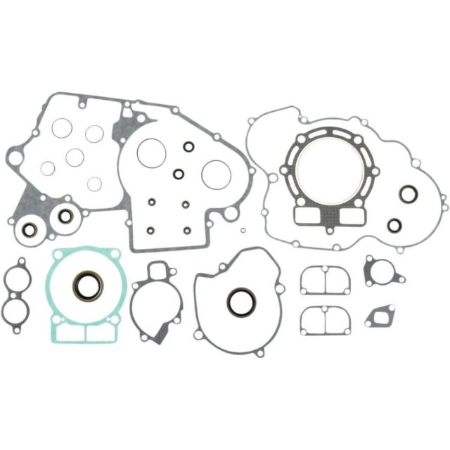 Moose Racing MX 0934-0632 Complete Gasket Set With Oil