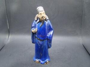 Chinese 20th century nice hand made glazed shiwan yao big figure w397
