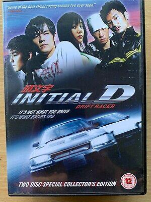 Initial D (film) : initial, (film), Initial, Cantonese, Action, Movie, 2-Disc, 5030305510848