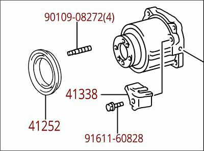 Toyota Venza 2009- 2011 Rear Differential Trans Coupling