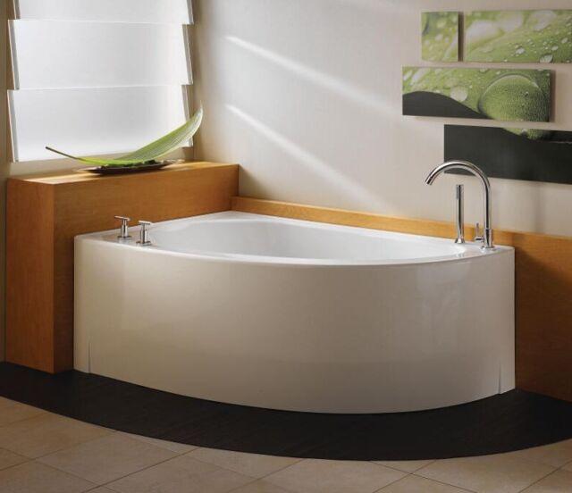 Neptune Wind 60 Whirlpool Bathtub Wi60t  Lovely Corner