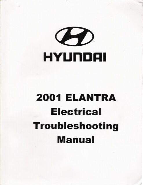 2001 Hyundai Elantra Factory Electrical Troubleshooting