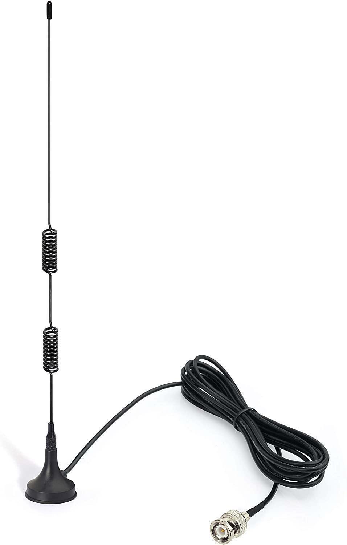 VHF UHF Ham Radio Scanner Antenna Magnetic Base Radio