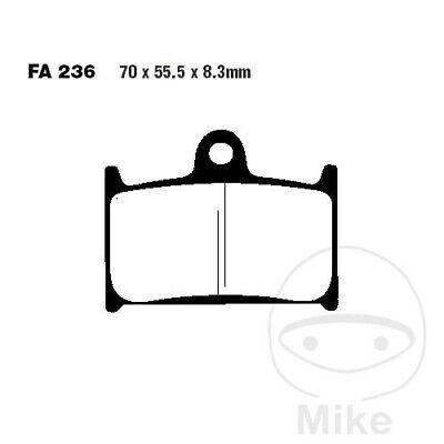 EBC FA Organic Front Brake Pads FA236 Triumph Sprint 1050