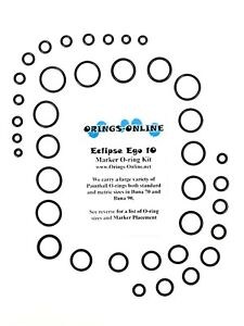 Planet Eclipse Ego 10 Paintball Marker O-ring Oring Kit 2