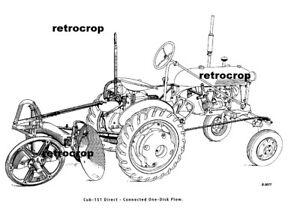 McCormick CUB-151 Manual Farmall Cub Rear Semi-Mount Disc