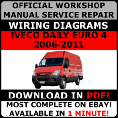 Iveco Daily 2007 Wiring Diagram 4 Wire Lambda Sensor Official Workshop Service Repair Manual For Image Is Loading