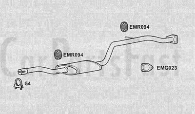 Exhaust Middle Box Volvo V40 1.8 Petrol Estate 05/2000 to