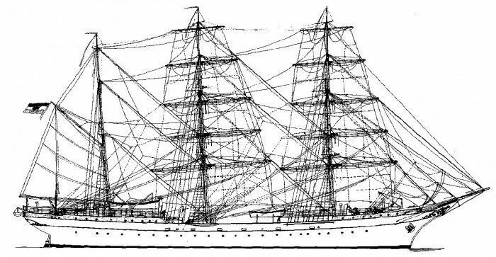 Räumungsangebote Bauplan Gorch Fock I Modellbauplan