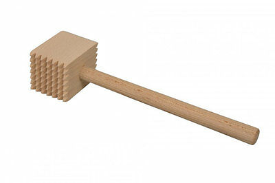 wooden meat hammer beater
