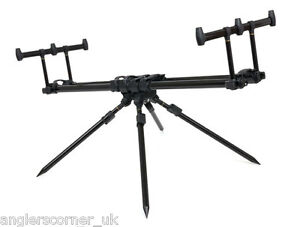 Fox Ranger MKII 3 Rod Pod Inc. Case & Buzz Bars / Fishing