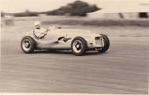 E.R.A. G-TYPE, DRIVER S.MOSS, BRITISH GRAND PRIX SILVERSTONE JULY 1952 PHOTO