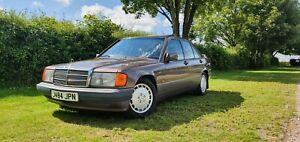 1991/J MERCEDES 190E 2.0 AUTO 101K 3 FAMILY OWNER MOT NO RES