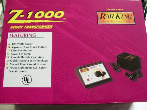 small resolution of mth z 1000 transformer 100 watts power 14 volt accessory ports 40 1000 o gauge for sale online ebay