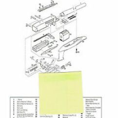 Ruger Pistol Parts Diagram Wiring For Stanley Garage Door Opener 22 Charger Gp 100 Revolver Exploded View List Image Is Loading