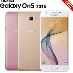 Samsung Galaxy On5 2016 (16GB) 13MP DUAL SIM J5 GSM Factory Unlocked G5520