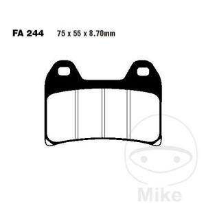 EBC HH Sintered Front Brake Pads FA244HH Aprilia Tuono
