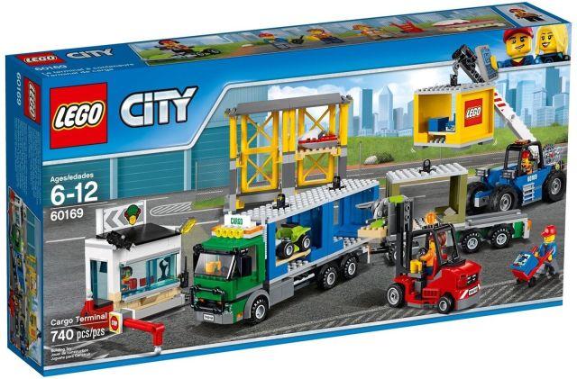 Lego City, 60169 Fragt Terminal – dba.dk – Køb og Salg af Nyt  og Brugt