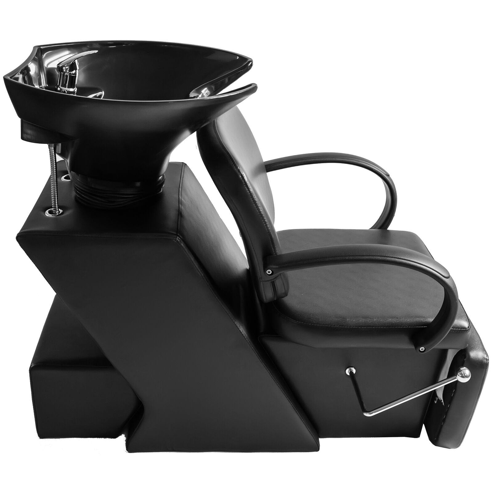 Salon Sink And Chair Shampoo Salon Backwash Bowl Barber Chair Sink Unit Spa