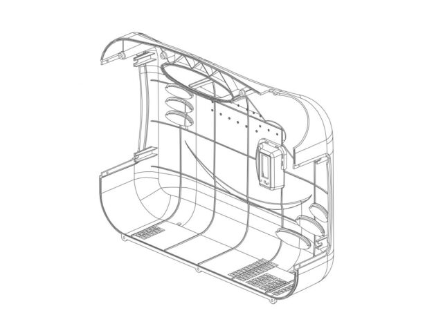 Powerhouse 67538 Generator Cover Assembly For PH2400Pi