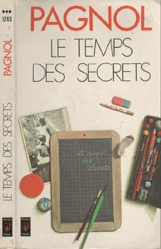 Marcel Pagnol Le Temps Des Secrets : marcel, pagnol, temps, secrets, Temps, Secrets, Pagnol, Marcel, 2266000330, Online